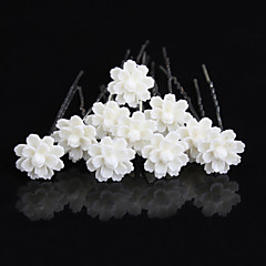 20 pcs  Women's Pearl Headpiece-Wedding U Shape Hair Pin / Hair Stick Jewelry