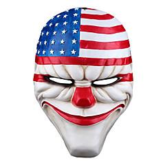 Halloweenské masky / Masky maškarní film Character Potřeby na svátky Halloween / Plesová maškaráda 1Pcs