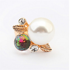 FAMOUS Designer Natural Freshwater Pearl Ring Exclusive Modern Trendy Chic Female Sterling-Silver-Jewelry Pearl Jewelry