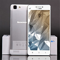 "Lenovo A6800 5.0 "" Android 4.4 4G älypuhelin ( Dual SIM Neliydin 13 MP 1GB + 8 GB Sininen / Hopea )"