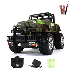 Buggy (fuoristrada) / Buggy 1:20 Elettrico con spazzola RC Auto 5km/h 2 canali AM Verde Pronto all'uso