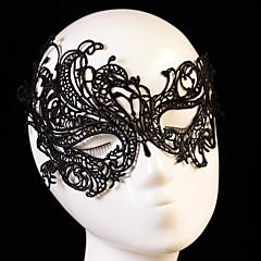 Dame Blonde Hodeplagg-Bryllup Spesiell Leilighet Masker 1 Deler