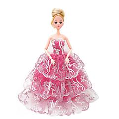 Puppenkleidung Freizeit Hobbys Kostüm Rock Plastik Rosa Für Mädchen 5 bis 7 Jahre