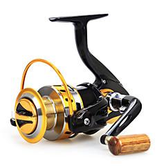 Csalidobó orsók 5.5:1 12 Golyós csapágy cserélhető Tengeri halászat / Csalidobó / Folyóvíz horgászat-Baitcast Reels