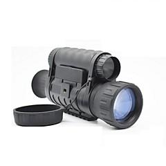 6X50 mm Monocular BAK4 Impermeável Visão Nocturna Militar Revestimento Múltiplo Total Militar Caça Preto