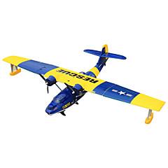 Dynam PBY Catalina 1:8 Moteur Sans Balais 50KM/H Quadrirotor RC 4ch 2.4G EPO Blue Assemblement requis