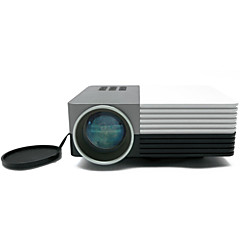 LCD HVGA (480x320) Projektor,LED 80 Lumens Bærbar DLP Projektor