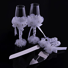 Flower Lace Cup Knife And Fork Combination