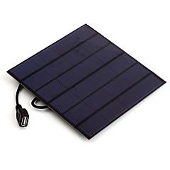 4.5W 5V USB-Ausgang monokristallinem Silizium Solarladegerät für iphone 6s Samsung huawei (sw4505u)