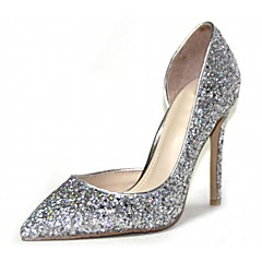 Women's Shoes Microfibre / Patent Leather Spring / Summer / Fall Heels Heels Wedding /Party & Evening / Dress / Casual