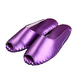 M.livelihood.H® Damen Kunstleder Pantoffeln-WA1011