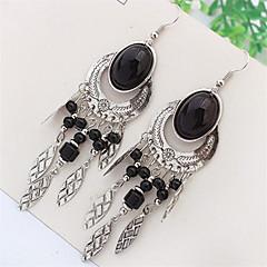 Bohemian Fashion Beads Oval Earrings