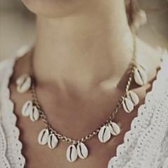 女性 ペンダントネックレス 貝殻 シェル 合金 ファッション シルバー ゴールデン ジュエリー パーティー 日常 カジュアル 1個