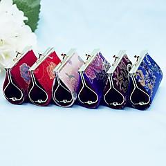 Recipient Gifts - 1Pcs/Set, Asian Coin Purse, Candy Favor Box Bridesmaids Shower Favors, Random Color Shipping