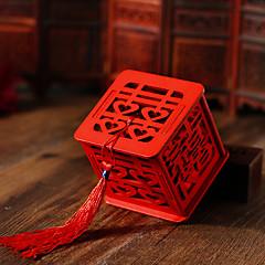 Geschenkboxen / Süßigkeiten Gläser und Flaschen(Rot,Holz) -Nicht personalisiert-Hochzeit / Jubliläum / Brautparty / Babyparty /