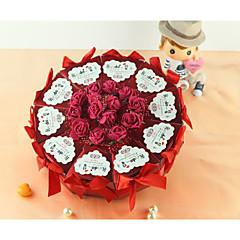Geschenkboxen(Rot,Kartonpapier) -Nicht personalisiert-Quinceañera & Der 16te Geburtstag / Geburtstag / Hochzeit / Jubliläum / Brautparty