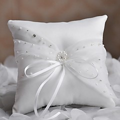 Ring Pillow Satin Asian Theme / Classic Theme / Fairytale Theme / Butterfly ThemeWithRibbons