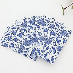 100% virgin pulp 50pcs Blue Wedding Napkins