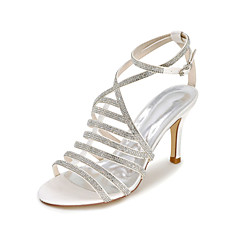 Women's Sandals Spring / Summer / Fall Sandals Satin Wedding / Party & Evening