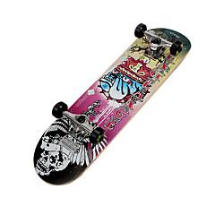Vaahtera Lasten Standardi Skateboards Ammattilaisten Keltainen Pinkki