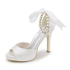 סנדלים-נשים-נעלי חתונה-סנדלים-חתונה / שמלה / מסיבה וערב-שחור / כחול / ורוד / סגול / אדום / שנהב / לבן / כסוף / זהב / שמפניה
