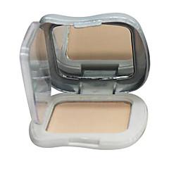 1 אבקה דחוסה יבש פודרה מהודקת Kattavuus / קונסילר פנים זהב / Natural / קריסטל china maycheer