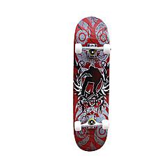 31 Inch Complete Skateboards Ammattilaisten Vaahtera ABEC-7-Punainen Sininen