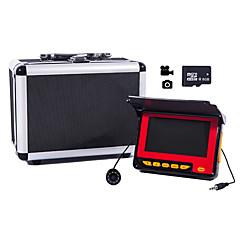 "20M Fish Finder Underwater Fishing Camera  4.3"" LCD Monitor 1000TVL CAM 8pcs Infrared LED Sunvisor DVR Function721D-20"