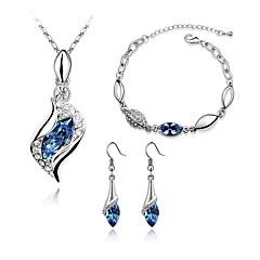 Κοσμήματα Κολιέ / Cercei / Βραχιόλι Κολιέ / βραχιόλι / Κολιέ / Σκουλαρίκια / Σκουλαρίκια / βραχιόλι / Νυφικό κόσμημα σετ / ΣετΜοντέρνα /