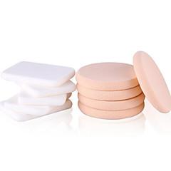 Keqi ® 5 Round + 5 Square Makup Foundation Sponge Wet or Dry Use