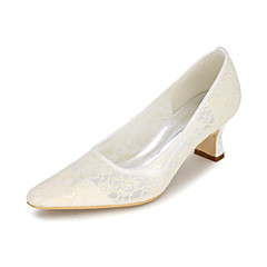 Women's Heels Spring / Summer / Fall Square Toe Synthetic Wedding / Party & Evening