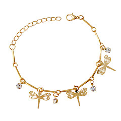 Bracelet Charm Bracelet Alloy Animal Shape Fashion Jewelry Gift Gold,1pc