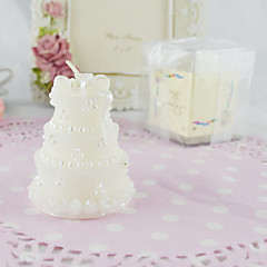 The Classic Wedding Cake Candle(Set of 2)