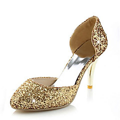 Women's Shoes Glitter / Customized Materials the four seasons Heels / D'Orsay & Two-Piece / Pointed Toe HeelsWedding
