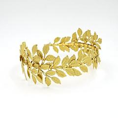 Women's Alloy / Cubic Zirconia Headpiece-Wedding / Casual Headbands / Head Chain / Hair Tool 1 Piece Gold