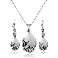 Šperky Náhrdelníky / Küpeler Svatební šperky Soupravy Svatební / Párty 1Nastavte Dámské Stříbrná Svatební dary