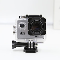 Sports Camera 4K  WIFI Waterproof Action Camera High Defenition 2.0 Inch Sports DV 360 Degree Sport Camera Silver