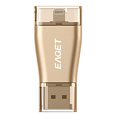 eaget i50 32g USB3.0 / lyn OTG mini flash-stasjon u disk for iPhone, iPad, mac / stk