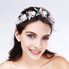 Women's Imitation Pearl / Acrylic Headpiece-Wedding / Special Occasion Flowers 1 Piece Multicolor