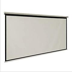 проекционный экран письмо одаренный 100-дюймовый 16: 9 шторы и ручной конференц-зал белый пластик бытовые