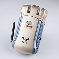 Wafu wirelesss slimme afstandsbediening deurslot met keyless& onzichtbare anti-diefstal slot beveiliging deurslot met 4
