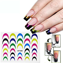 1Pcs Decals French Nail Stickers Manicure Tips Guide Nails Decoration Form Finger Guides