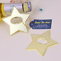 Chroom Fles Favor 1Stuk/Set Fles Openers Strand Thema Niet-gepersonaliseerd Goud