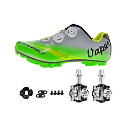 Sykkelsko med pedal og tåjern Unisex Demping Fjellsykkel