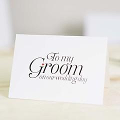 לא מותאם אישית קיפול עליון הזמנות לחתונהכרטיסי Thank you / כרטיסי מענה / לדוגמא הזמנה / כרטיסי ברכה ליומהולדת / כרטיסים למסיבת כלה /