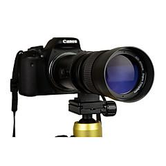 420-800mm f / 8,3-16 supertele handmatige zoom lens t-mount voor canon dslr