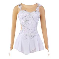 Ice Skating Dress Women's / Kid's / Girl's Skating Dresses High Elasticity Figure Skating Dress Breathable / Wearable Flower(s)Spandex /