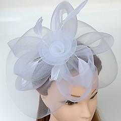 Ženy Peří Síť Přílba-Svatba Zvláštní příležitost Neformální Čelenky Ozdoby do vlasů Jeden díl