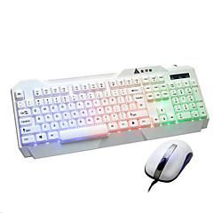 valkoinen taustavalo peli näppäimistön kaapeli näppäimistön tai hiiren työpöydälle hehku puvut