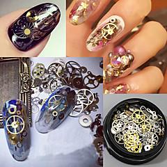 120pcs Nail Art Decoration tekojalokivi Pearls meikki Kosmeettiset Nail Art Design